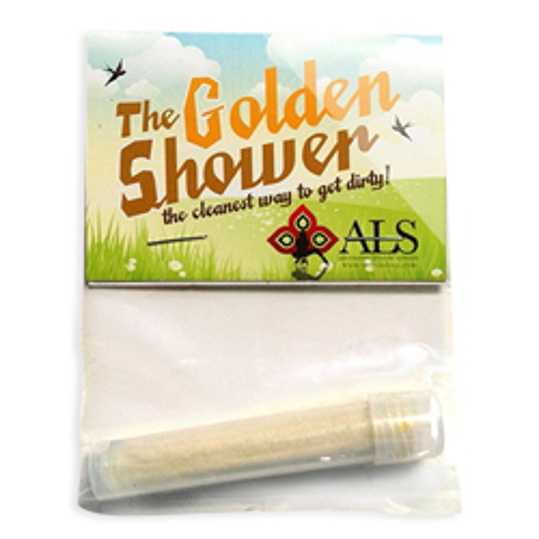 Urine golden shower